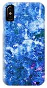 Abstract Splashing Water IPhone Case