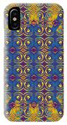 Abstract Sun Rays And Rings IPhone Case
