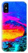 Abstract Sunset As A Painting IPhone Case