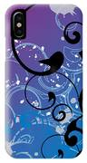 Abstract Swirl IPhone Case