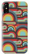 Abstract Textile Seamless Pattern Of IPhone X Case