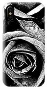 Dark Star Roses For David Bowie IPhone Case