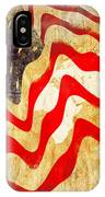 Abstract Usa Flag IPhone Case