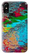Abstract Wet Pavement IPhone Case