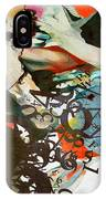 Abstract Women 025 IPhone Case