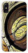 Abstract Wood Grain IPhone Case