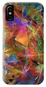Abstraction 0357 Marucii IPhone Case