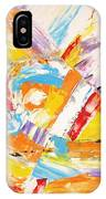 Abstraction 0473 Marucii IPhone Case