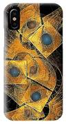 Abstraction 207-03-13  Marucii IPhone Case