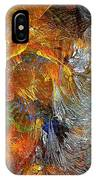 Abstraction 435-08-13  Marucii IPhone Case