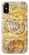 Abstraction 561-11-13 Marucii IPhone Case