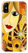 Abstraction 676 - Marucii IPhone Case