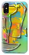 Abstraction 702 -marucii IPhone Case