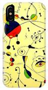 Abstraction 754 - Marucii IPhone Case