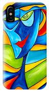 Abstraction 757 - Marucii IPhone Case