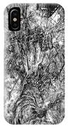 Abstraction B-w 0554 - Marucii IPhone Case