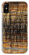 Abstract Reed And Water Patterns IPhone Case