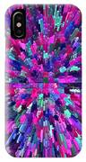 Abstrract Cubes Violet IPhone Case