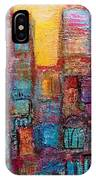 Abstrtact City Sunset IPhone Case
