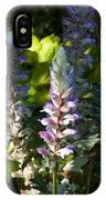 Acanthus Flower IPhone Case