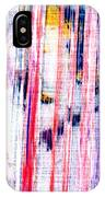 Acryl  Happy Sally Behind The Shower Curtain... Boo IPhone Case