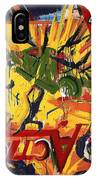 Action Abstraction No. 1 IPhone Case