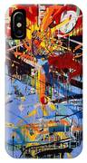 Action Abstraction No. 6 IPhone Case