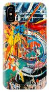Action Abstraction No. 7 IPhone Case