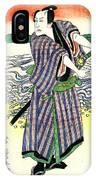 Actor Nakamura Utaemon 1813 IPhone Case