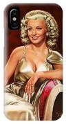 Actress Carole Landis IPhone Case