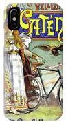 Ad Bicycles, 1898 IPhone Case
