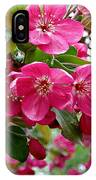 Adams Crabapple Blossoms IPhone Case