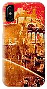 Adams Hotel Fire 1910 Phoenix Arizona 1910-2012 IPhone Case