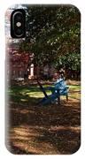 Adirondack Chairs 2 - Davidson College IPhone Case