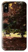Adirondack Chairs-3 - Davidson College IPhone Case