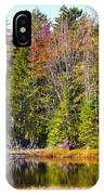 Adirondack Color Near Old Forge New York IPhone Case