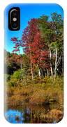 Adirondack Stream In Autumn IPhone Case