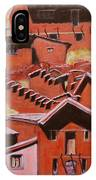 Adobe Village - Peru Impression II IPhone Case