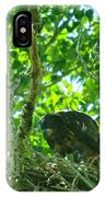 Adolescent Eagle Eating A Fish IPhone Case