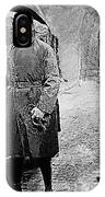 Adolf Hitler Shortly After His Release From Prison 1924 1924-2012 IPhone Case