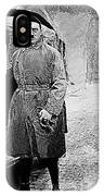 Adolf Hitler Shortly After His Release From Prison With A Mercedes 1924 - 2012 IPhone Case