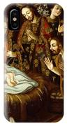 Adoration Of The Sheperds IPhone Case
