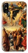 Adoration Of The Trinity IPhone Case