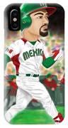 Adrian Gonzalez Team Mexico IPhone Case