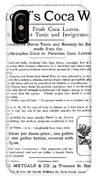 Advertisement: Coca Wine IPhone Case