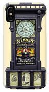 Advertising Clock IPhone Case