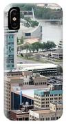 Aerial Of Downtown Wichita IPhone Case