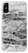 Aerial Of Indy 500 IPhone Case
