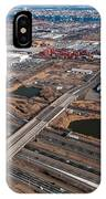 Aerial Over Newark IPhone Case
