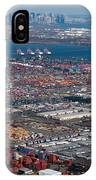 Aerial Over Newark And New Yourk IPhone Case